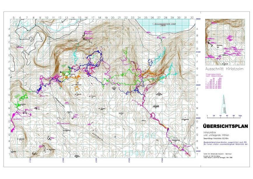 91a011edefa8 The Hirlatz Hohle edges towards the magic 100km mark