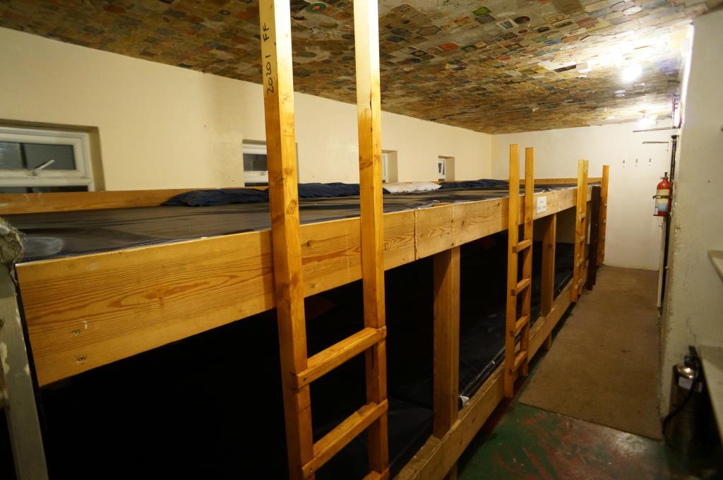 Belfry bunkroom 2014